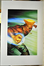 Street Fighter - GUILE LIMITED EDITION PRINT Capcom Arnold Tsang art