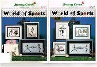 WORLD OF SPORTS - STONEY CREEK CROSS STITCH BOOK