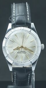 "Refurbished SilverDial FHF ST-96 ""Hand Winding"" Men's Excellent Watch Swiss Mvmt"