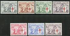 Belgium Anti Tb Scott#B156/62 Mint Nh-Scott Value $550.00