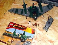 Lego Indiana Jones 7683: Fight on the Flying Wing (2009) NO BOX