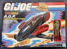 GI Joe Battle Force 2000 IRON GRENADIERS AGP w/ NULLIFIER Figure New MISB 1987