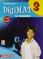 Digimat vol.3 + CD-ROM (3tomi) Montemurro, Deagostini scuola cod:9788841860991