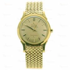 1960s OMEGA Constellation 18k Yellow Gold Men's Watch