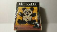 Latch Hook Panda Creative Kit by Valiant Crafts 9645 Teddy Bear