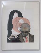 """Arandus, """"O.T."""" 2010, Mischtechnik auf Papier, 90cm x  70cm"""