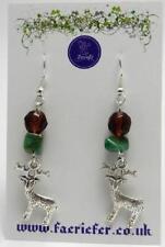 Handmade Jade Drop/Dangle Costume Earrings
