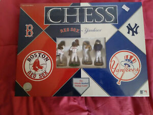 Boston Red Sox vs. New York Yankees Chess Set MLB RIVALRY 2002 Brand New!