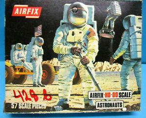 AIRFIX S41-89 1/72 HO OO ASTRONAUTS 1st 1971 BLUE BOX EDITION 57 pcs SET MIB