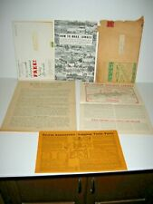1936 Belsaw Saw Mill Machinery Brochure Catalog Manual Flyers Letter Envelope