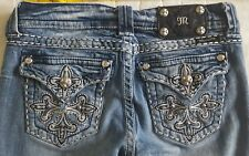 BUCKLE Miss Me Stretch Jeans 27 boot cut 28 / 27 distressed