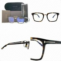 Authentic Tom Ford TF5523B 052 50mm Havana FT5523B Eyeglasses
