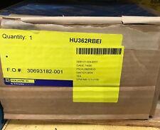HU362RBEI, NEW SQD SAFETY SWITCH W/ FACTORY INSTALLED INTERLOCK, AKA HU362RBE1