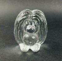 Vintage Kosta Boda Bergdala Troll Figurine Sweden Art Glass Signed Musikkar 1988