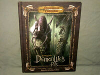 D&D 3.5 Ed Hardback -  EXPEDITION TO THE DEMONWEB PITS  (RARE and NEAR MINT-!!)