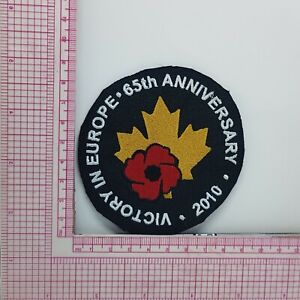 VTG Victory In Europe 65th Anniversary Patch Applique B2