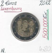 2 Euros - LUXEMBOURG - 2012 // Qualité: Neuve (le mariage)