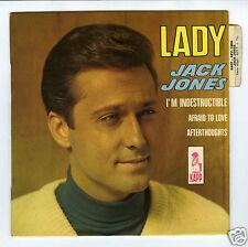 45 RPM EP JACK JONES LADY