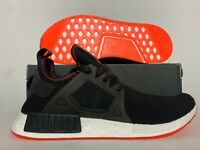 Adidas NMD_XR1 Shoes Core Black Solar Red SZ ( BY9924 )