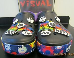 Limited Edition Crocs Kiss Bayaband slip-on Archived mule m10 w12 Retired clog