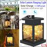 Waterproof Outdoor Solar Lantern Hanging Light LED Yard Patio Garden Lamp Decors