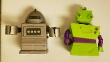 World of Zibits - Mini Small Tiny Robot Lot of 2, loose tested works