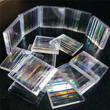 8PCS Defective Optical Glass Decoration Lens Prism for Science Physics Research