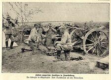 1915 * Durchbruch an der Zlota-Lipa * Österreichische Haubitzen * WW1