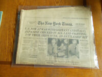 NEW YORK TIMES-50 YEARS OF WAR/PEACE 1912-1962 COMPLETE/INTACT
