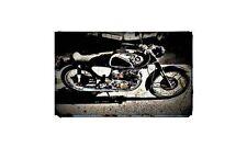 1962 cb72 Bike Motorcycle A4 Retro Metal Sign Aluminium