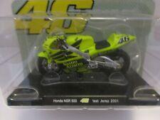 MOTO VALENTINO ROSSI 1/18 #46 HONDA NSR 500 TEST JEREZ 2001 COLL. EDICOLA