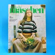 Modische Maschen 4 von 1987   Schnittmuster Mode Verlag für die Frau   DDR Y