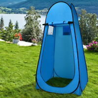 Pop Up Privacy Camping Shower Tent Changing Room Toilet Dressing Beach Outdoor