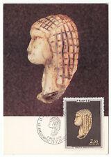 CARTE MAXIMUM FDC 1976 TIMBRE N° 1868 ART TABLEAU LA VENUS DE BRASSEMPOUY