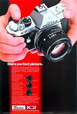 Publicité papier PHOTO ASAHI PENTAX K2 Dec 1976 NG P1018479