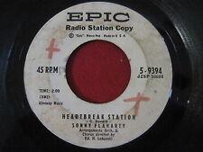 RARE OLDIES 45 - SONNY FLAHARTY - HEARTBREAK STATION - EPIC 9394 PROMO