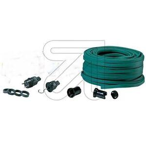 Illu Lichterkette Fassung E27 Bausatz grün 5 /10 / 15 / 20 m Deko Party Zelt