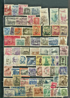 Poland Old Time Starter Stamp collection 69 Different used Running 1932 - 1966
