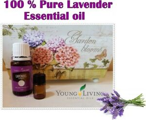 Young Living 100 % Pure Lavender  Essential Oil 1 ml or 2 ml Made in USA