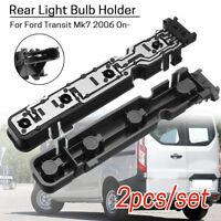2x Rear Light Lamp Bulb Holder / Stop Socket 1681537 Fit Ford Transit Mk7 06 On