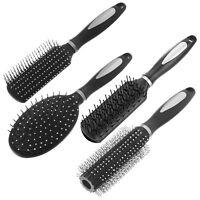 Large Paddle Hairbrush Tangle Free Cushion Massage Comb Brush New Oval Radial