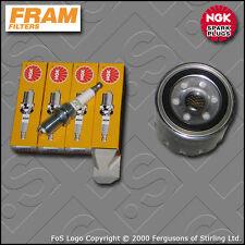 SERVICE KIT HYUNDAI COUPE (GK) 2.0 16V FRAM OIL FILTER NGK SPARK PLUGS 2002-2009