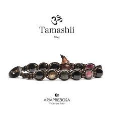 TAMASHII BRACCIALE ORIGINALE TIBETANO TORMALINA BLUE - BHS900-182