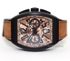 Franck Muller Vanguard Chronograph PVD Titanium V45 CC DT TT NR MC SB CAMOUFLAGE
