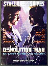 Demolition Man - Sylvester Stallone & Wesley Snipes - Film Presseheft (Y-7196+