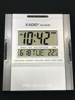 New Jumbo Large Display Digital Time Alarm Timer Temperature Desktop Wall Clock