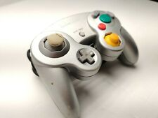 Genuine OEM Nintendo GameCube Controller Platinum Silver DOL-003 Tested