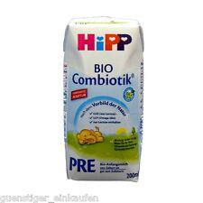 (11,45€/L) 200ml Hipp Bio Combiotik PRE Bio Anfangsmilch trinkfertig ab Geburt