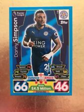 MATCH Attax Stagione 17/18 Leicester City #148 Danny Simpson