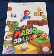 2011 Official Nintendo Super Mario 3D Land Premiere Edition Video Game Guide